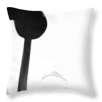 White Shirt #5578 Throw Pillow