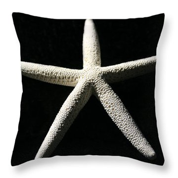 White Star Throw Pillow