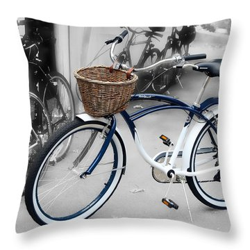 White Walls Throw Pillow by JAMART Photography