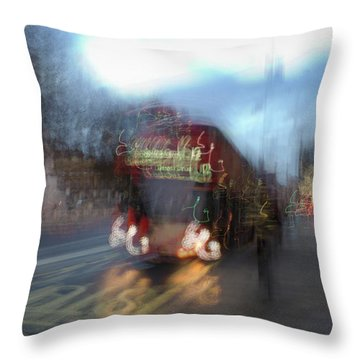 Throw Pillow featuring the photograph Whitehall by Alex Lapidus