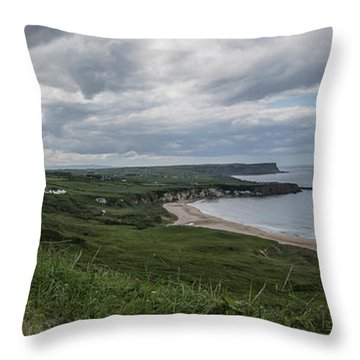 Whitepark Bay Throw Pillow