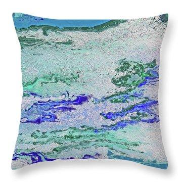 Whitewater Throw Pillow