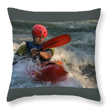 Whitewater Throw Pillow