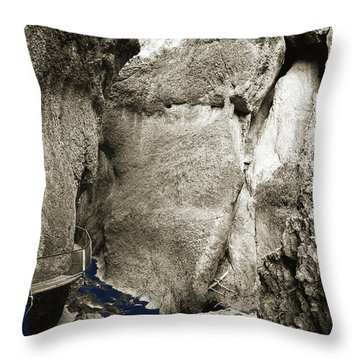 Whitewater Too Blu Throw Pillow