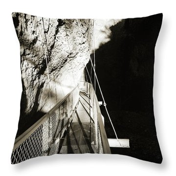 Whitewater Walk Throw Pillow