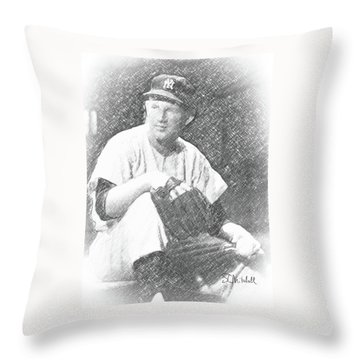 Whitey Throw Pillow