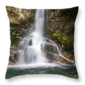 Whitmore Falls Throw Pillow by Jim McCain