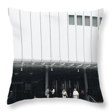 Whitney Museum Of American Art Throw Pillow
