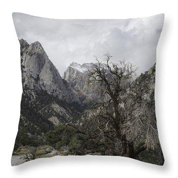 Whitney Portal Throw Pillow