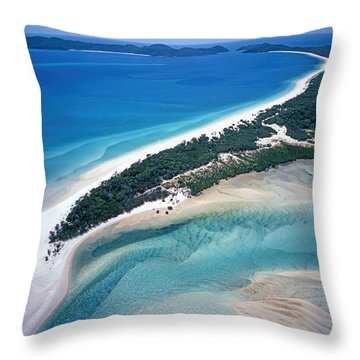 Throw Pillow featuring the photograph Whitsunday Islands by Juergen Held
