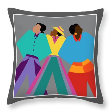 Who Dat Say Throw Pillow