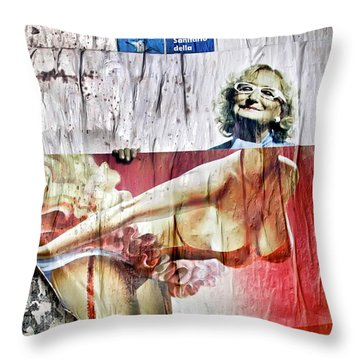 Throw Pillow featuring the photograph Who She Once Was by KG Thienemann