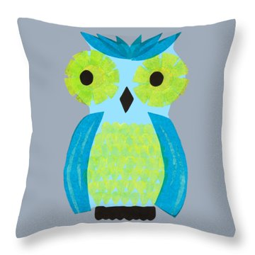 Who? Who? Throw Pillow