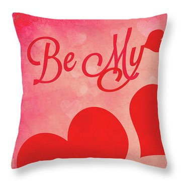 Whole Lotta Love Throw Pillow by Iryna Goodall