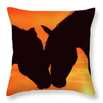 Wholeheartedly Throw Pillow