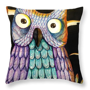 Whom? Throw Pillow