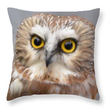Whoo Me Throw Pillow