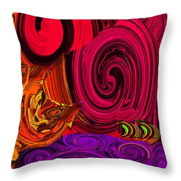 Whoop It Up Too Throw Pillow
