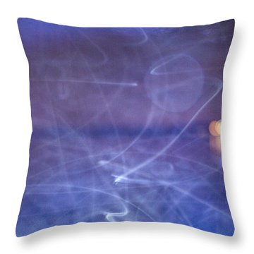 Whoosh Of Mosquitoes In The Night Throw Pillow