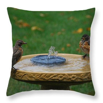 Whose First Throw Pillow