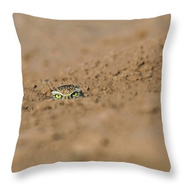 Whozat Throw Pillow