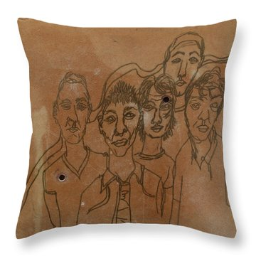Why Do I Have To Be Famous Radiohead Throw Pillow
