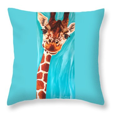 Why Hello Throw Pillow