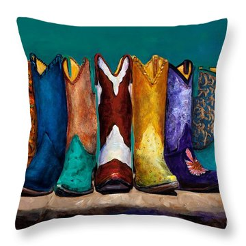 Why Real Men Want To Be Cowboys 2 Throw Pillow