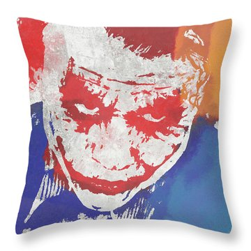 Why So Serious Throw Pillow