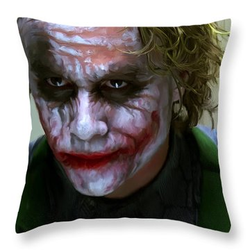 Why So Serious Throw Pillow