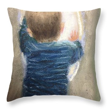 Why The Delay? Throw Pillow
