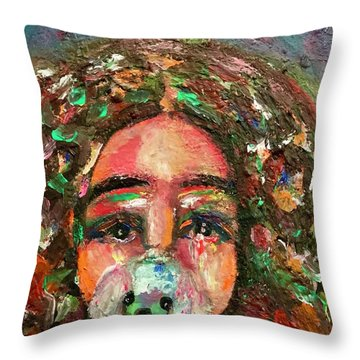 Why You Leave Us Throw Pillow
