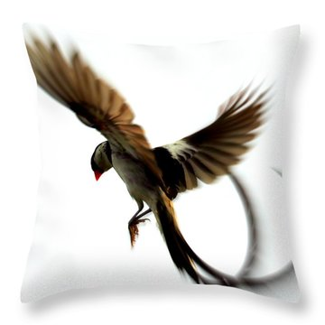 Whydah Abstract II Throw Pillow