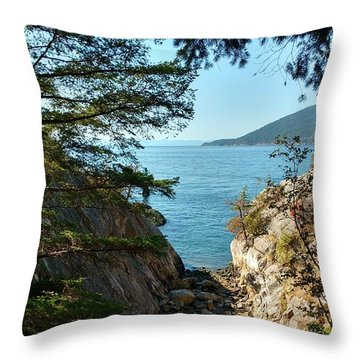 Whyte Cliff Park 2 Throw Pillow