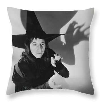 Wicked Witch Of The West Throw Pillow by Granger