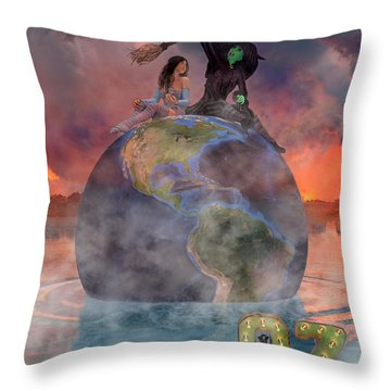 Wickedful Oz Throw Pillow