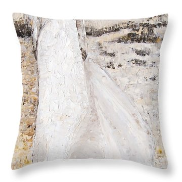 Out On The Wiley Windy Moors Throw Pillow