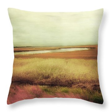 Impressionist Landscape Throw Pillows