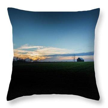 Throw Pillow featuring the photograph Wide Open Spaces by Shane Holsclaw