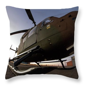 Wide Throw Pillow by Paul Job