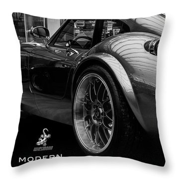 Wiesmann Mf4 Sports Car Throw Pillow