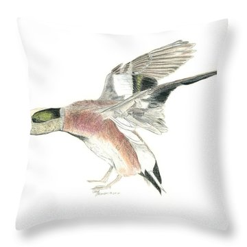 Wigeon Throw Pillow