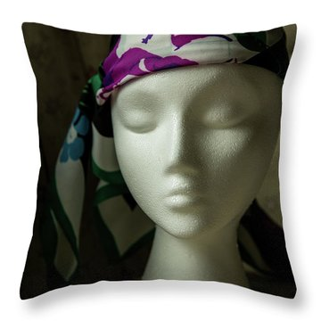 Wiggy Throw Pillow