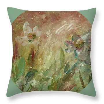 Wil O' The Wisp Throw Pillow