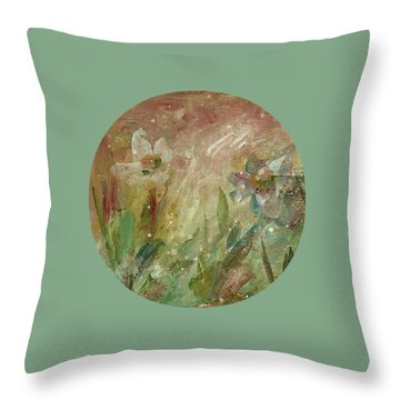 Wil O' The Wisp Throw Pillow by Mary Wolf