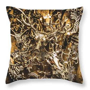 Wild Abundance Throw Pillow