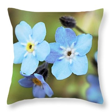 wild and Beautiful 4 Throw Pillow