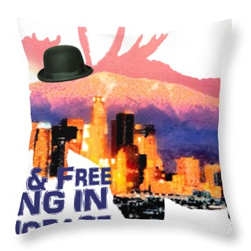 Wild And Free-in Anchorage Throw Pillow