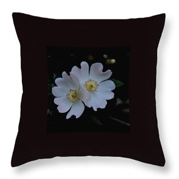 Wild And Tender Throw Pillow