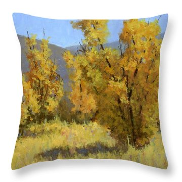 Wild Autumn Throw Pillow
